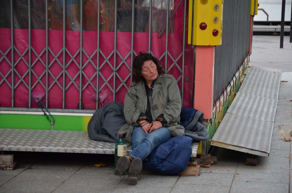 siesta v parizi