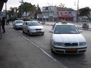 taxi v izraeli