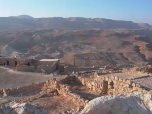 pevnost massada mrtve more