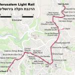doprava v jeruzaleme tramvaj