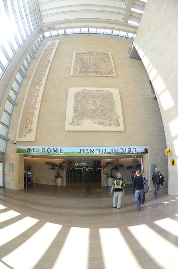 TLV Letiště Bena Guriona – Tel-Aviv – Izrael