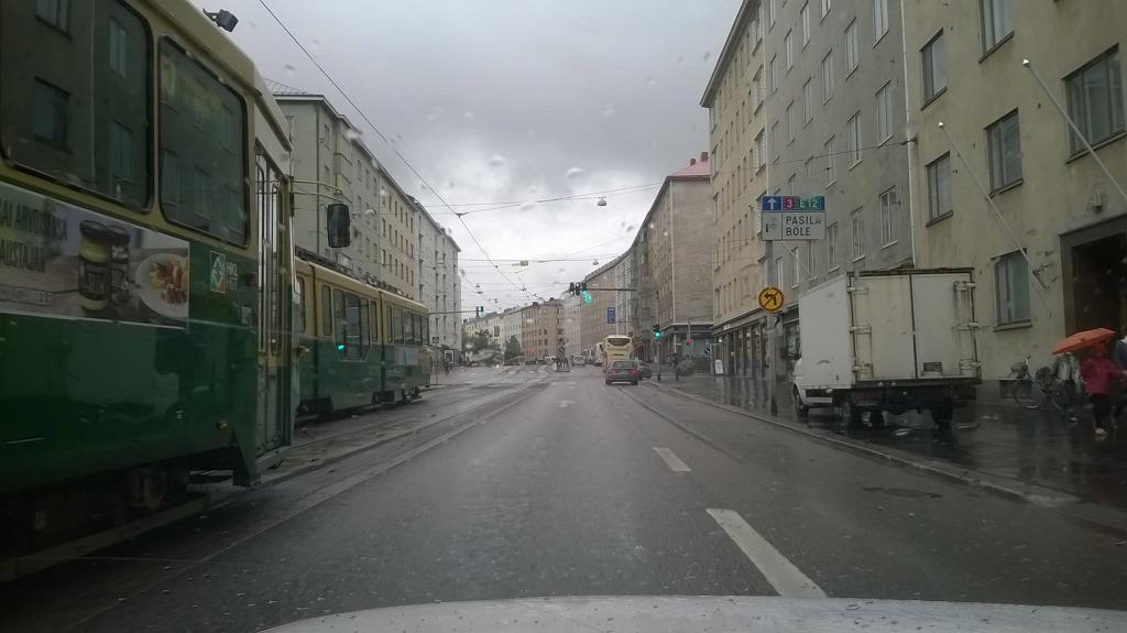 helsinki prace finsko tram