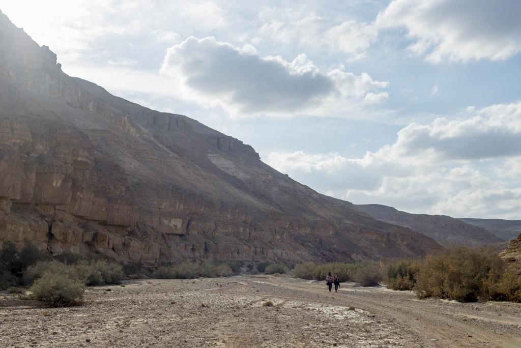 trek negevskou pousti v izraeli