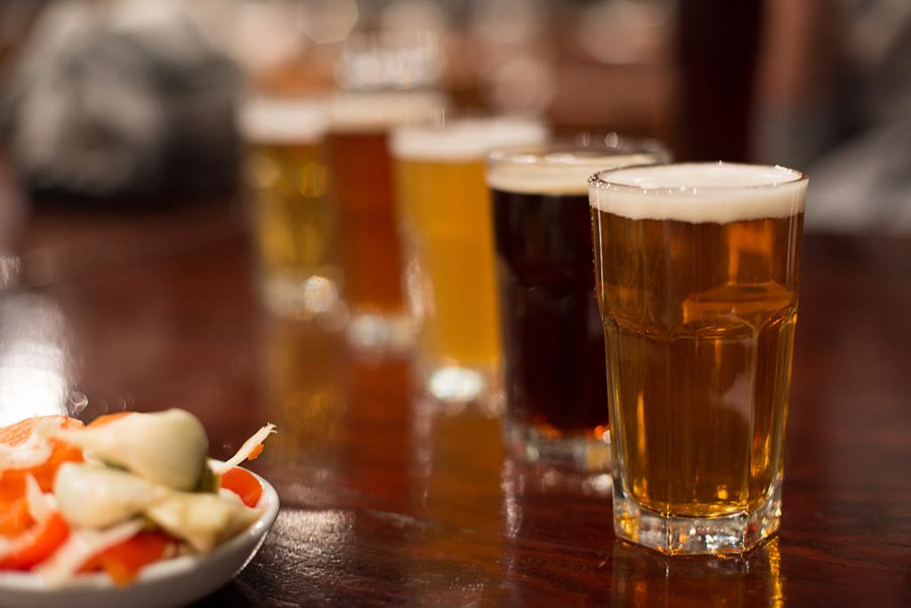 ochutnavka piv v pivovaru