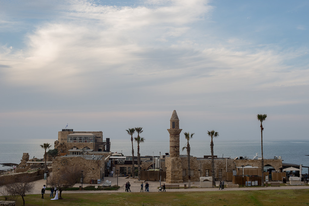 rímský přístav caesarea izrael