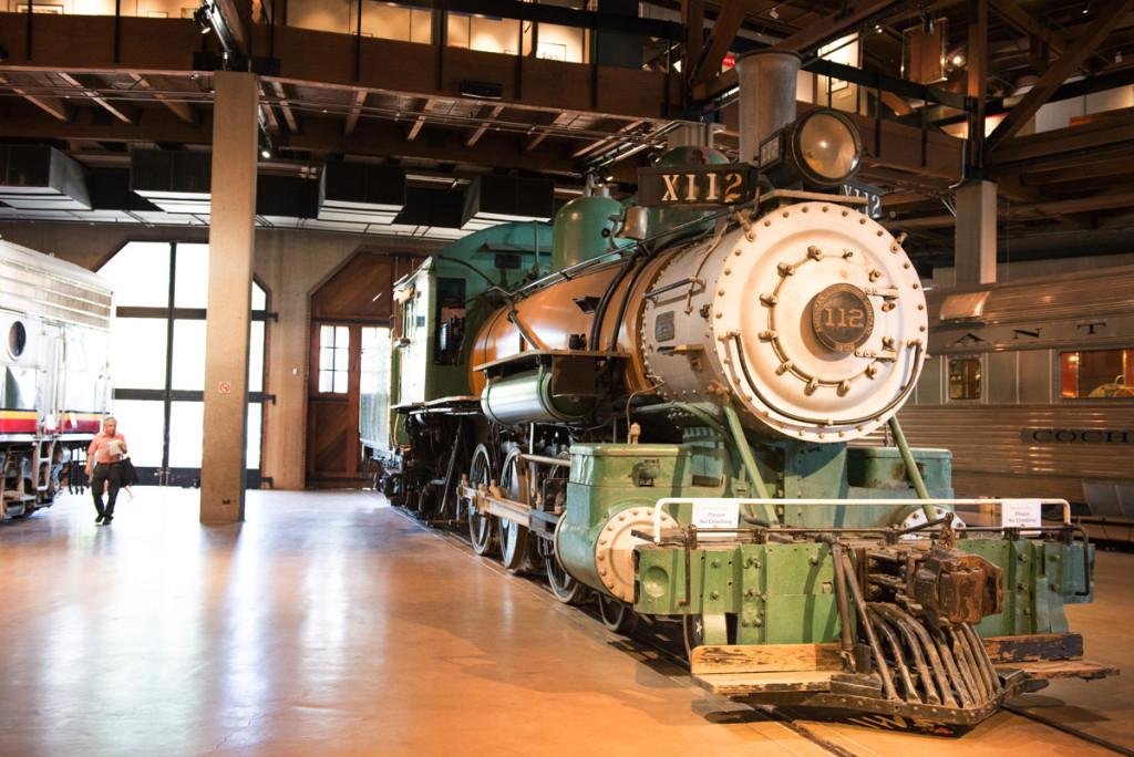 Lokomotiva 112 americké lokomotivové společnosti