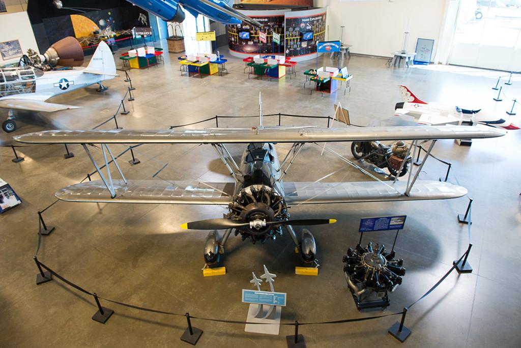 Boeing Stearman, Kalifornské muzeum letectví