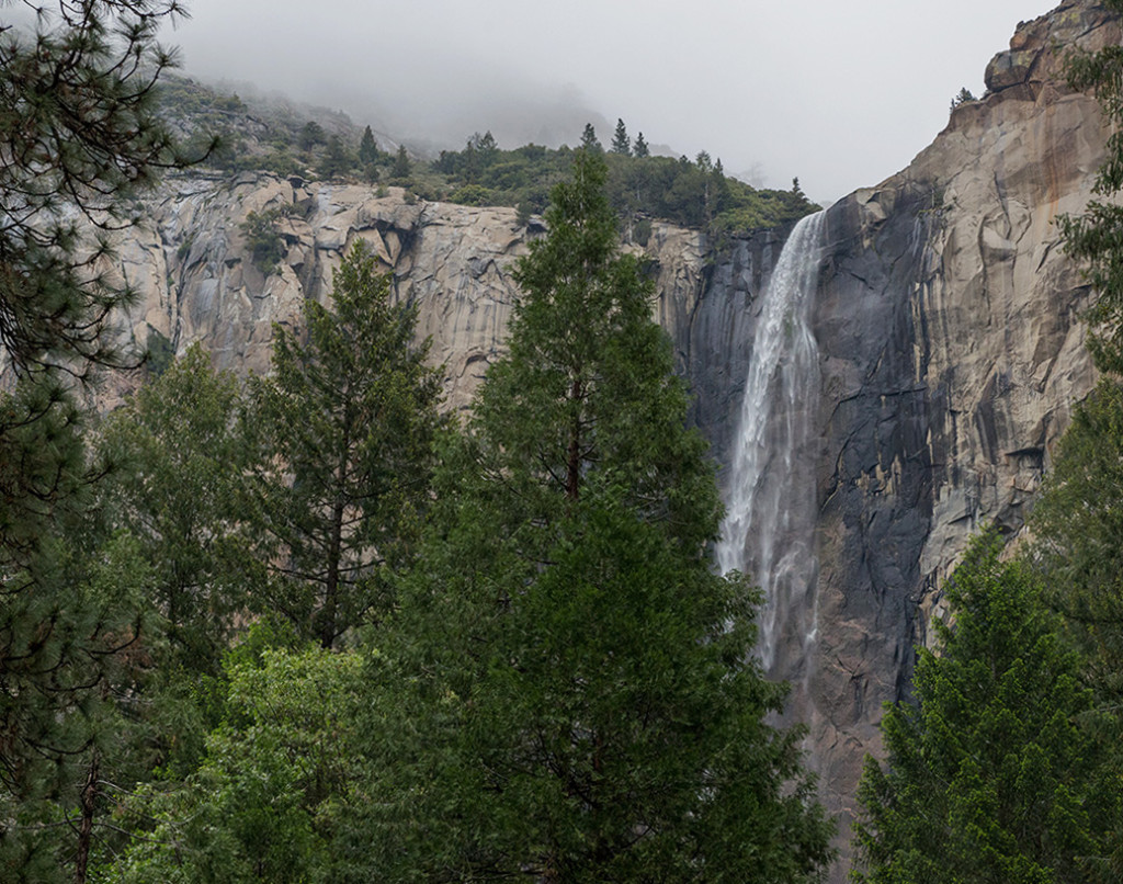 vodopád Nevěstin Závoj, Yosemitský NP