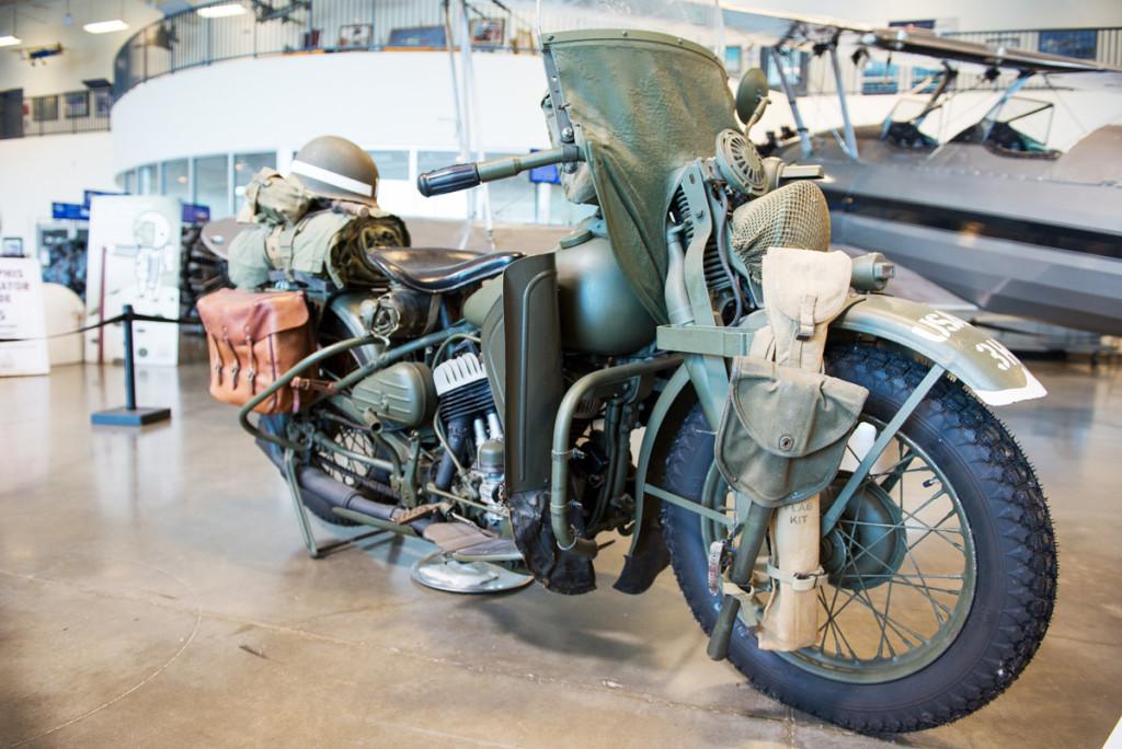 Harley Davidson vojenská verze, Kalifornské muzeum letectví