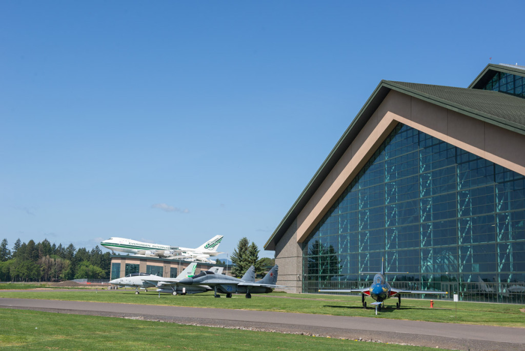 Prostor muzea letectví a kosmonautiky, McMinnville