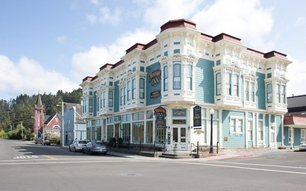 restaurace a hotel Victorian Inn