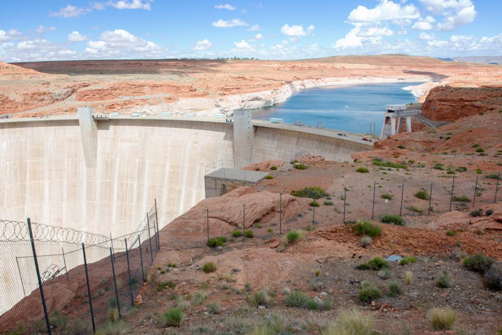 Glen Canyon dam, Page