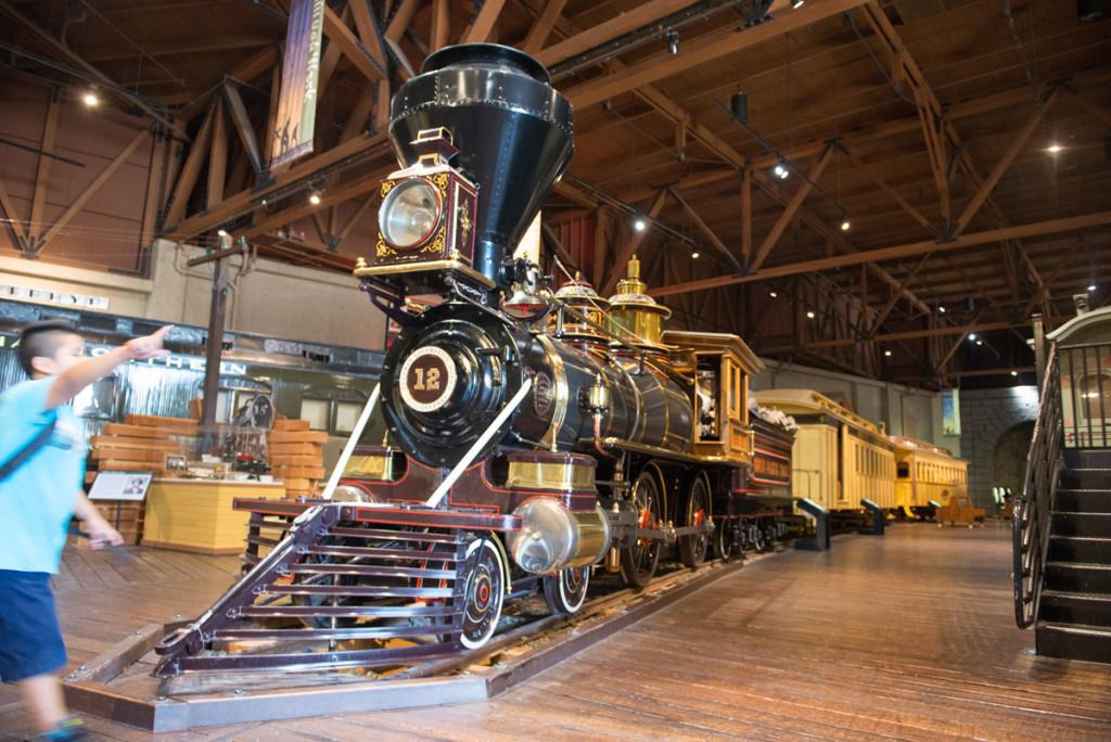 Parní lokomotiva z Baldwinových závodů