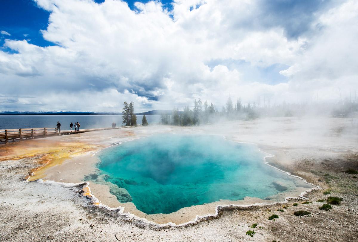 Národní parky Západu USA – Salt Lake City – Yellowstone NP – Seattle a cesta domů