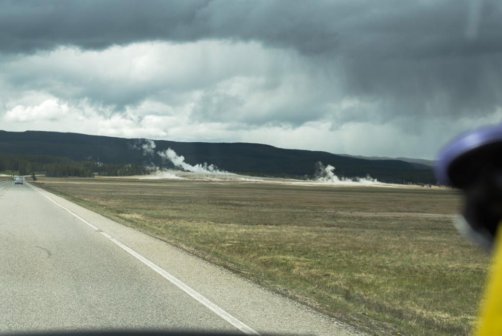 vjezd do Yellowstonského NP