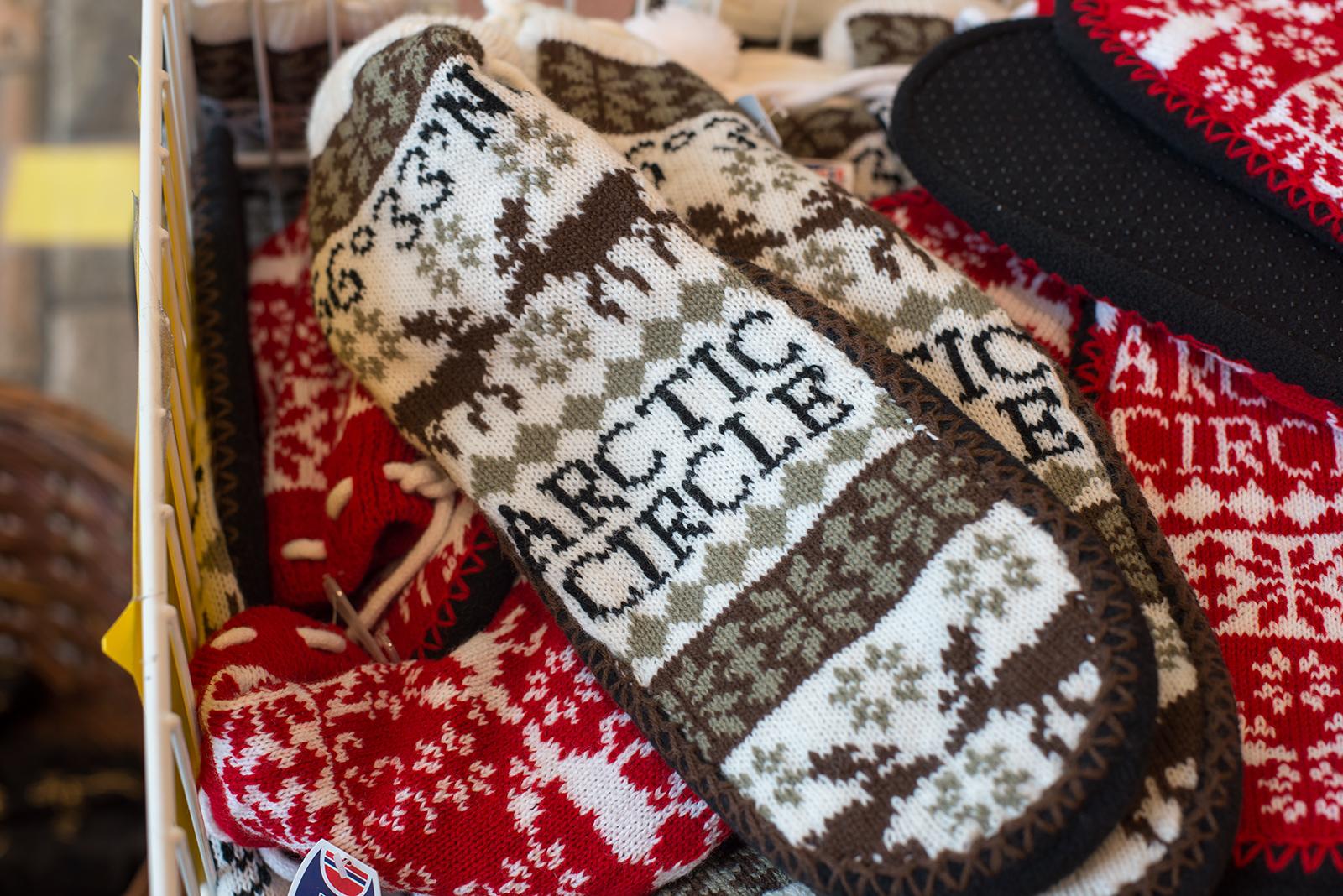 Ponožky z polárního kruhu, Norsko