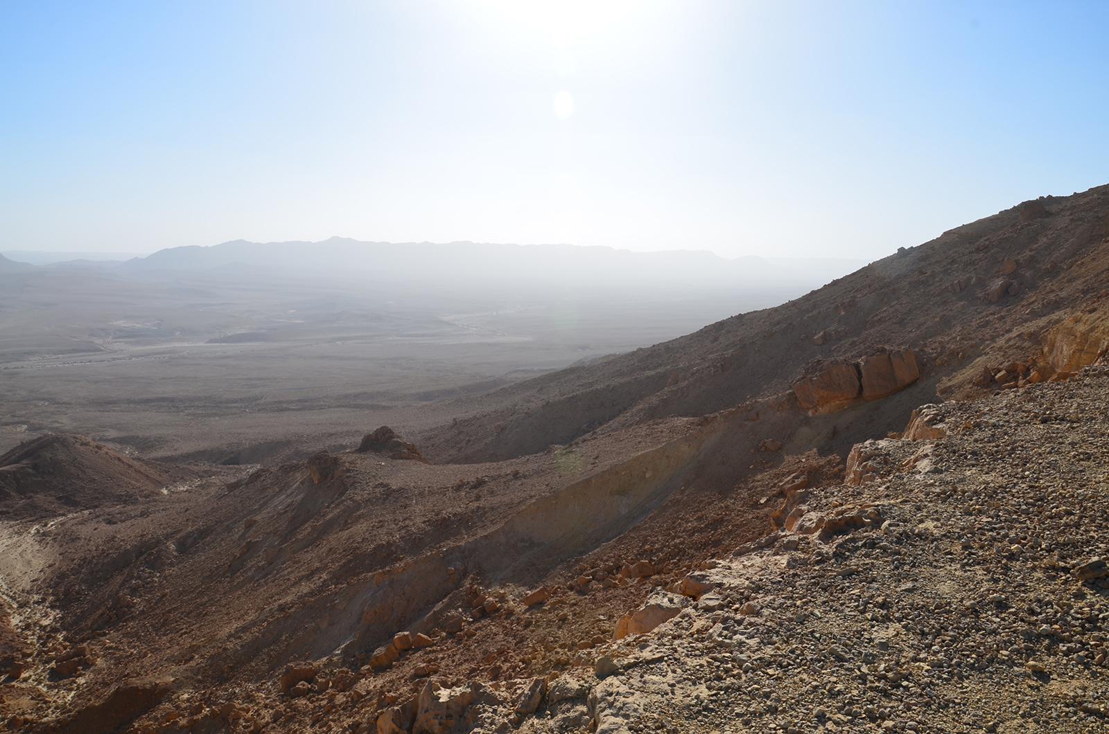 Dolů do Ramoského kráteru