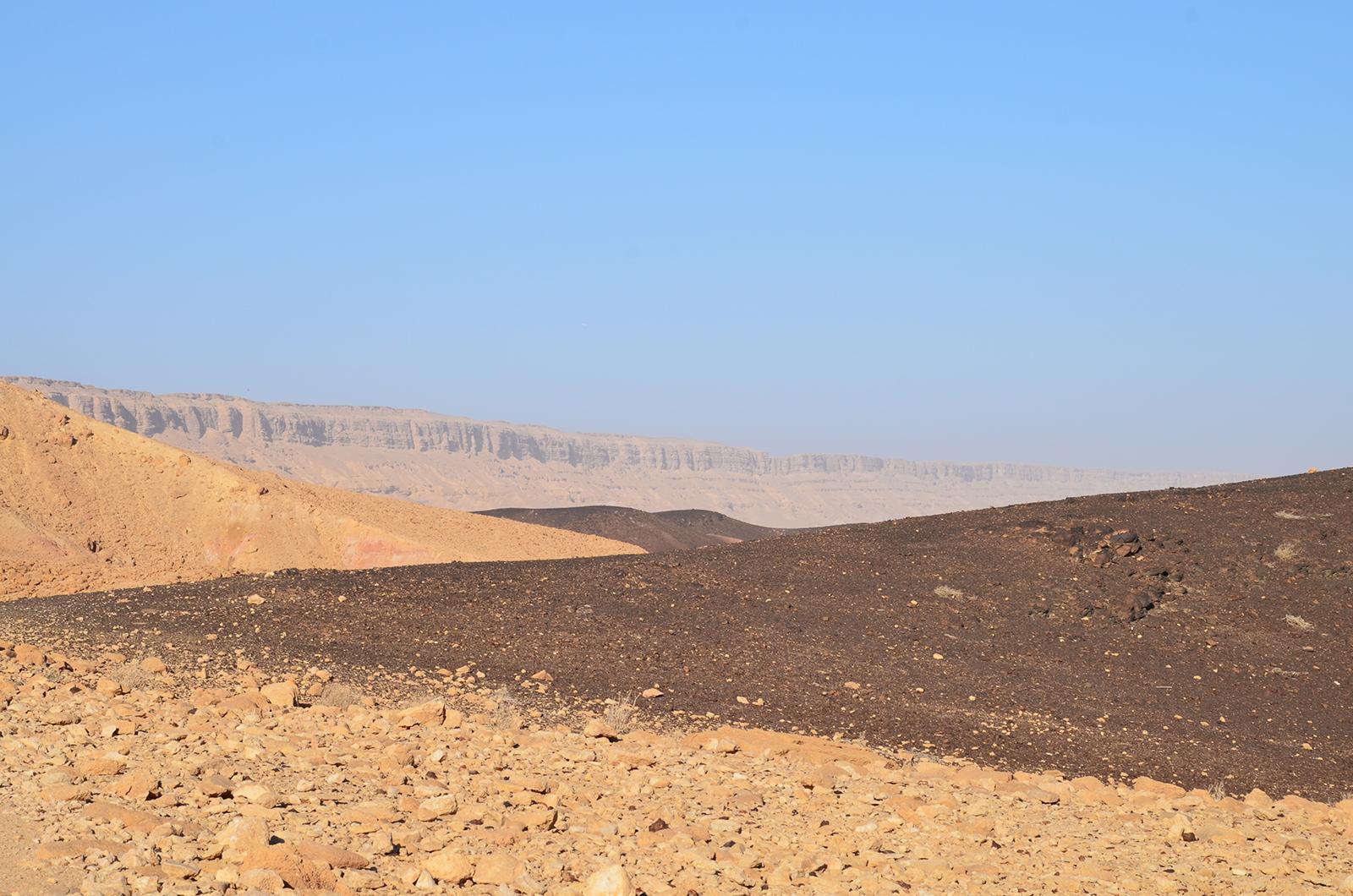 Tvary Negevské pouště