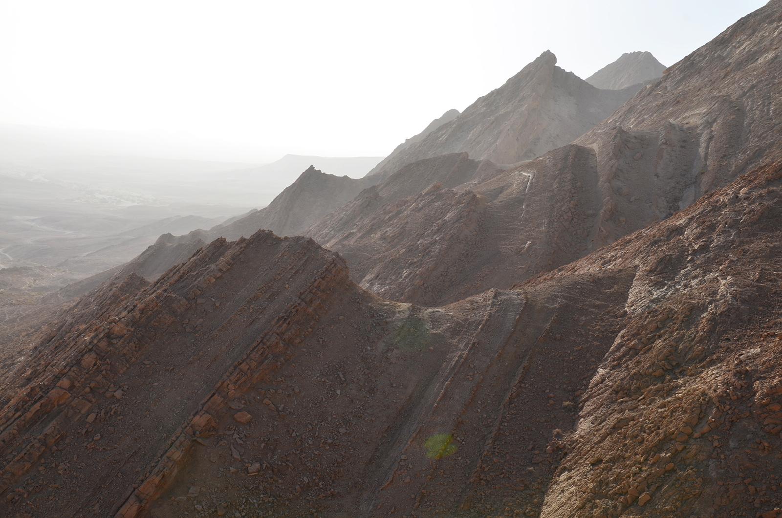 síla matky přírody, Negevská poušť, Izrael
