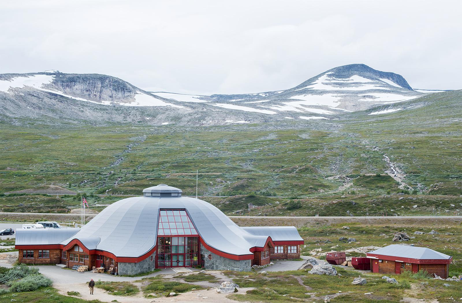 Návštěvnické centrum polárního kruhu na silnici E6