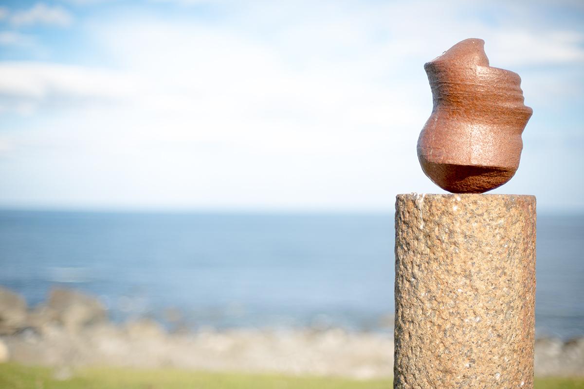 Hlava 'hlavou doů' od Markuse Raetze, Eggum, Norsko