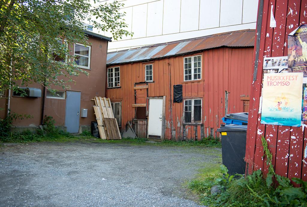 malebné zákoutí v Tromsø