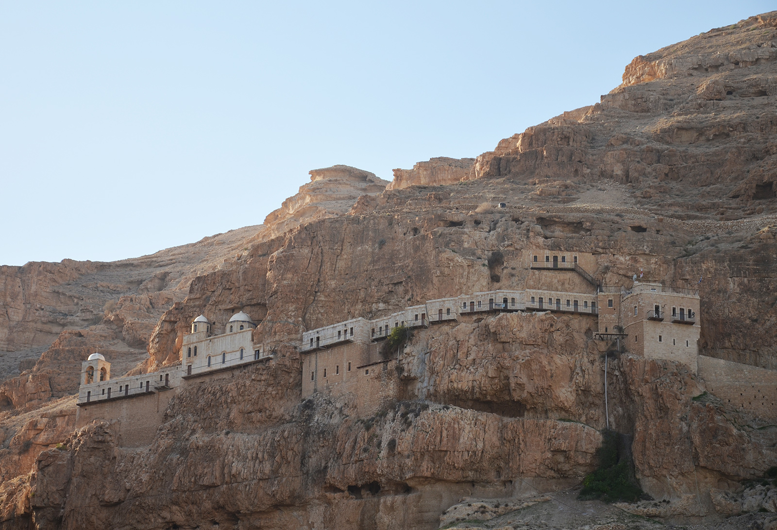 Klášter pokušení, Jericho, Západní Břeh