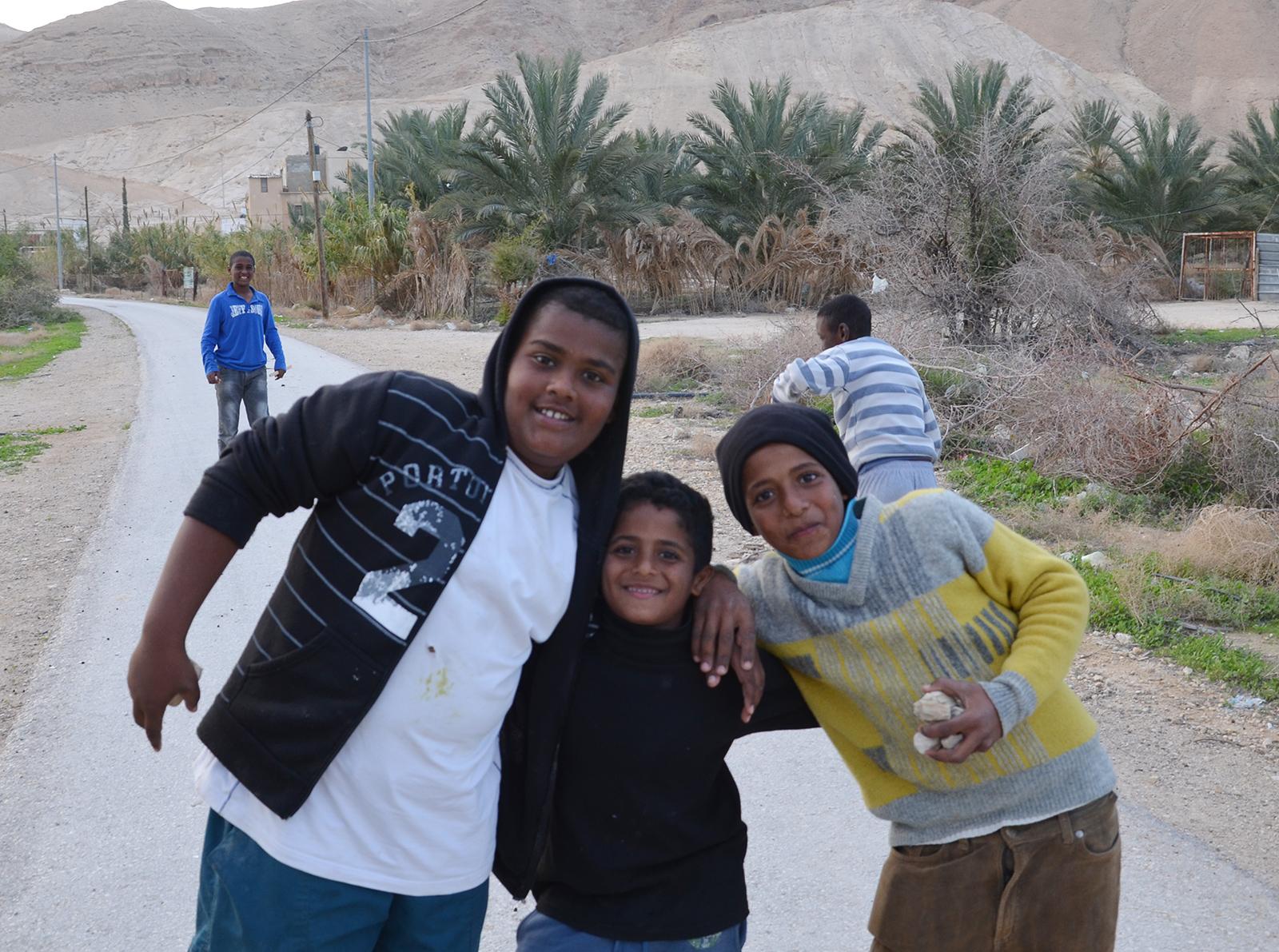 děti palestiny, Jericho, Západní Břeh