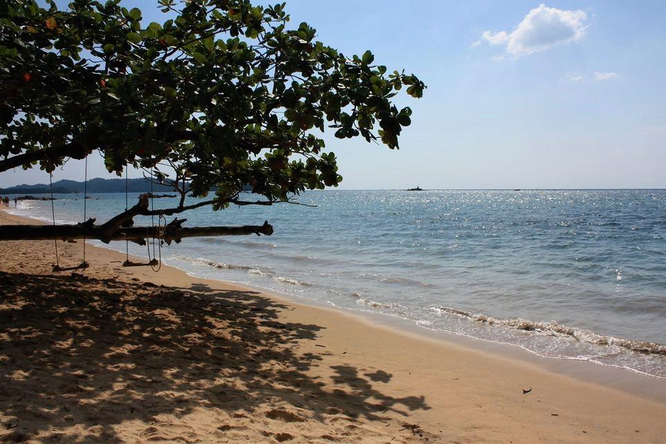 pláž v Phuketu thajsko
