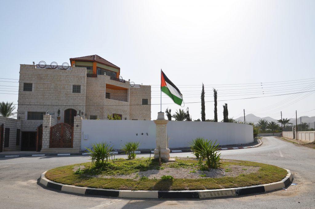 Novostavba v palestinském Jerichu
