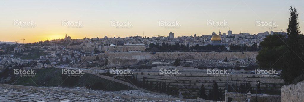 stock-photo-60370610-sunset-in-jerusalem