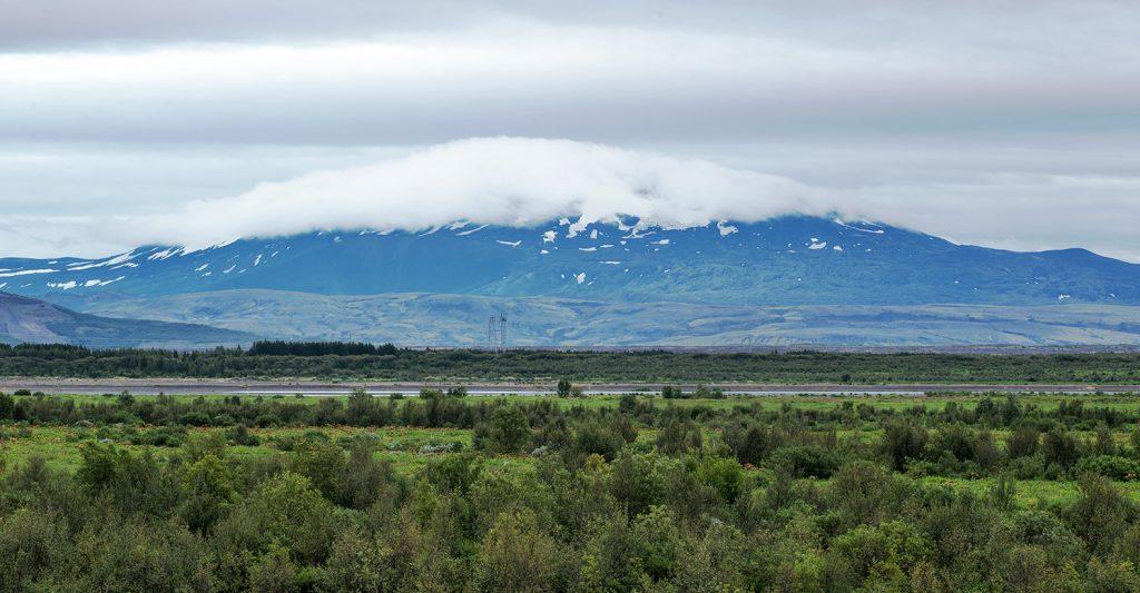 Hekla stratovolcano Iceland
