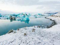 Island v zimních měsících