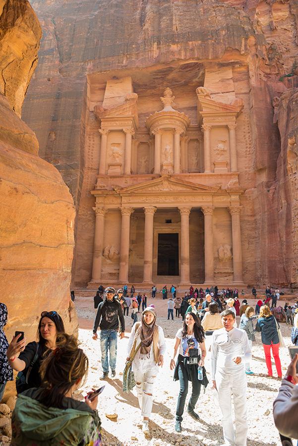 pokladnice v jordánské Petře