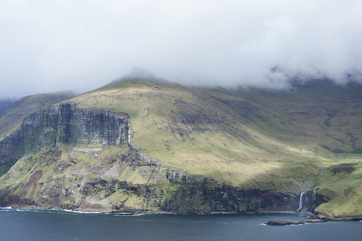 waterfall Vagar island - Faroe Islands