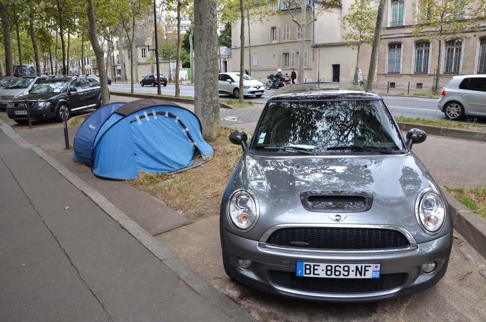 stanovani v parizi