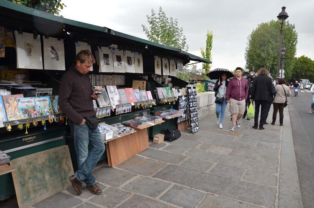 prodavac francouzskych knih