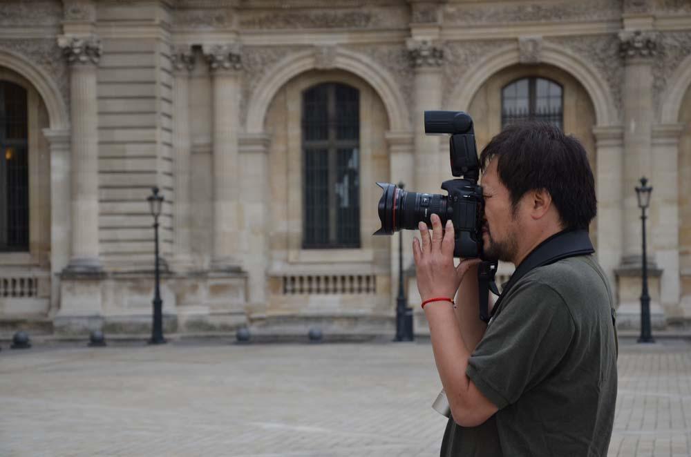 japosky fotograf v parizi