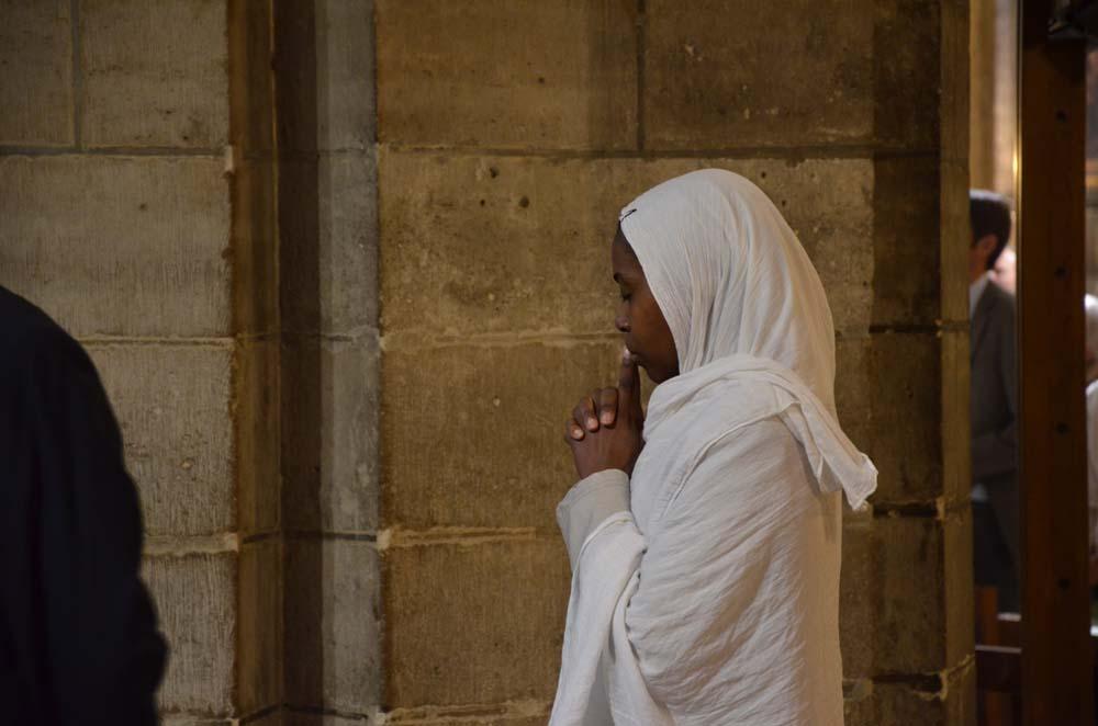 modlitba v notre dame