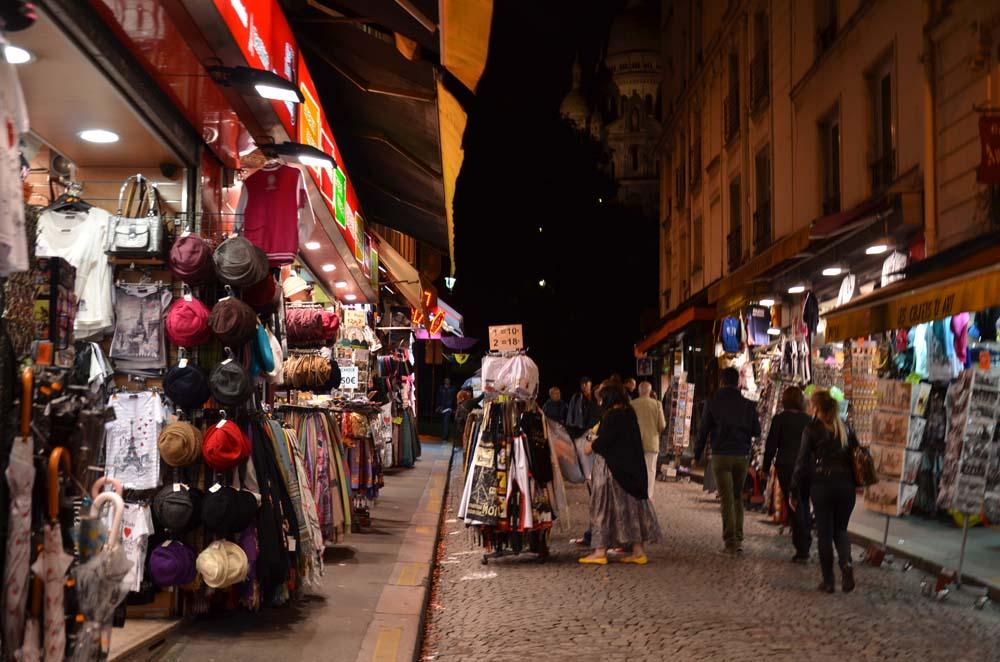 ulicka na montmartre