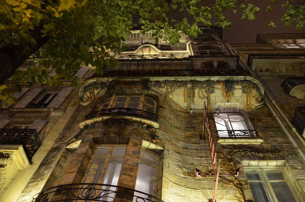 secese v parizskem stylu