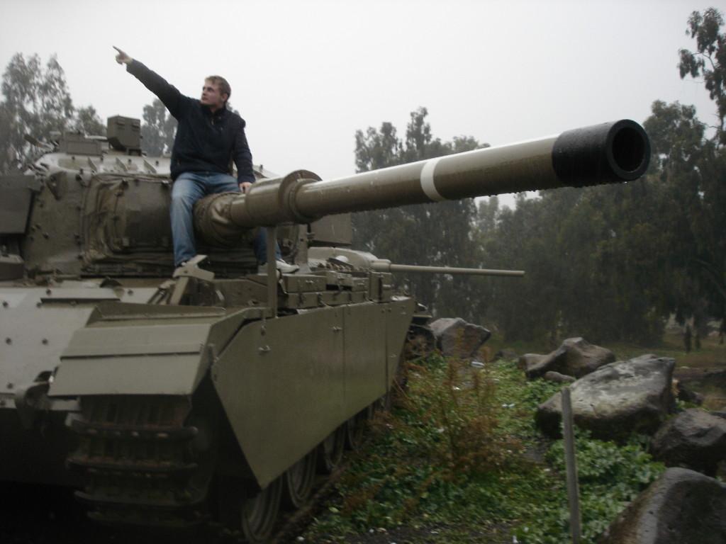 tank a mesita na golanech