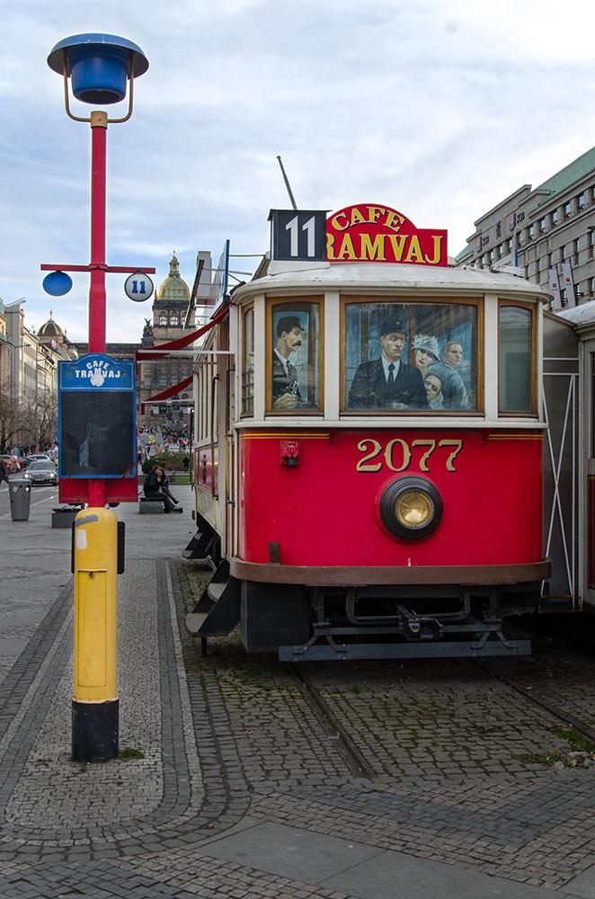 historicka tramvaj praha