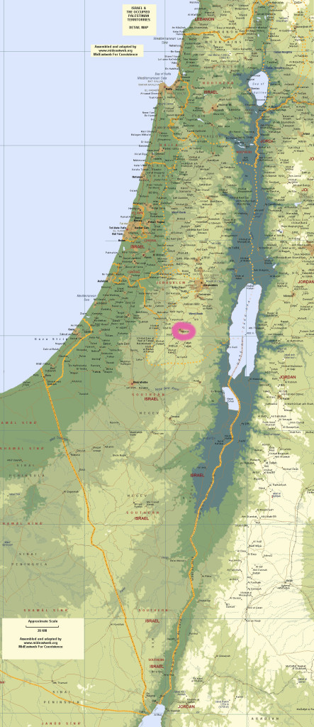 izrael eurovylet hebron