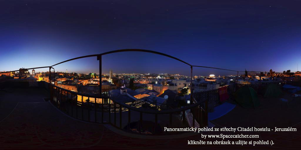 strecha-citadel-hostel-jeruzalem stare mesto izrael