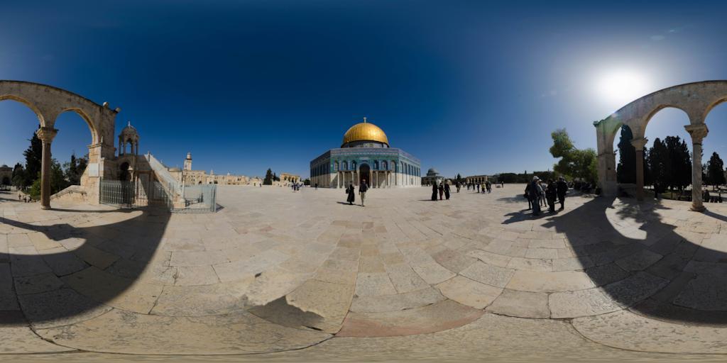 virtualni prohlidka chramova-hora jeruzalem izrael