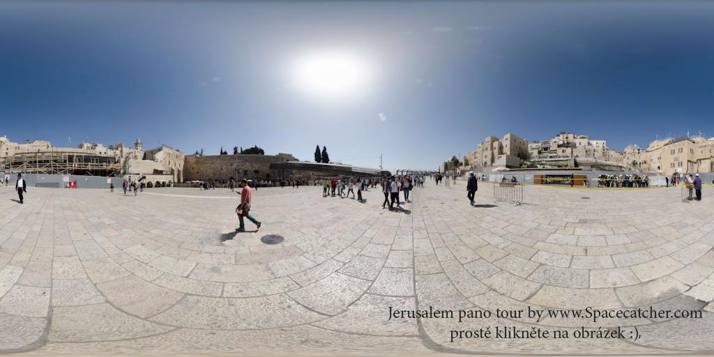 jeruzalem za zdmi chramove hory