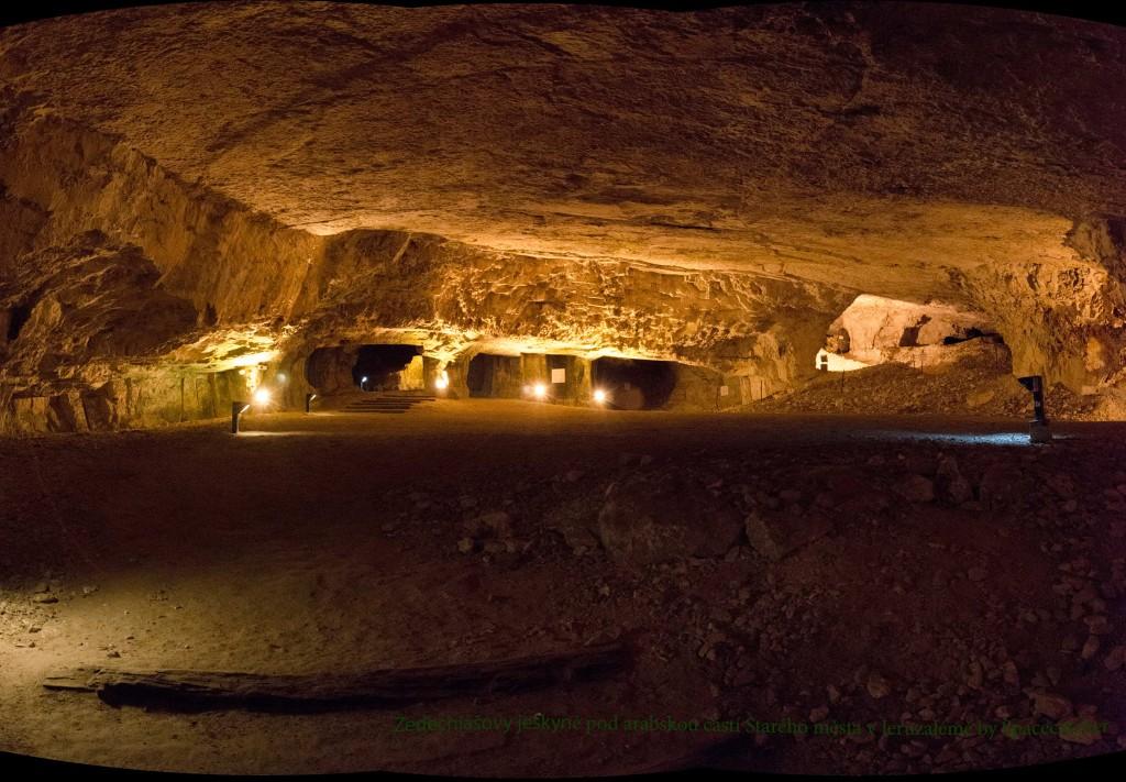 jeruzalem izrael zedechiasovy-jeskyne