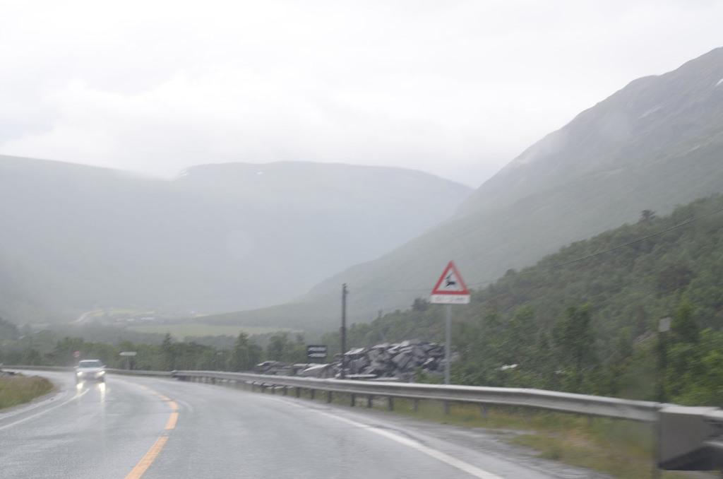 pocasi v norsku v lete