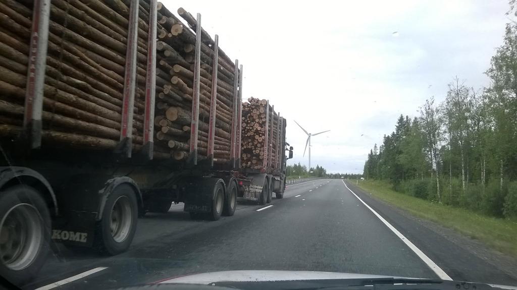 cesta do norska - finsko